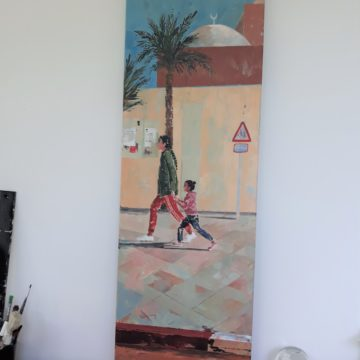 Back to school – 40x120cm – DISPONIBLE